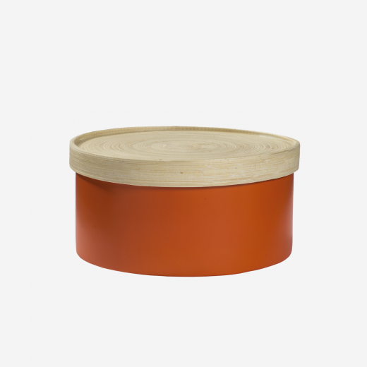 Bamboo box M orange