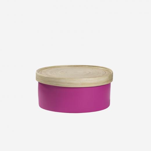 Bamboo box S Pink