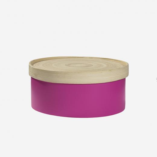 Bamboo box M Pink