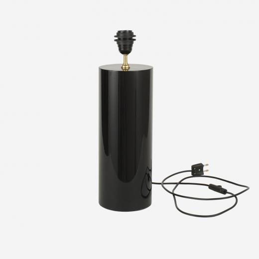Lampstand Grafic-round black