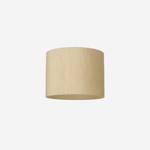Lampshade, rawsilk, wheaten 40x30