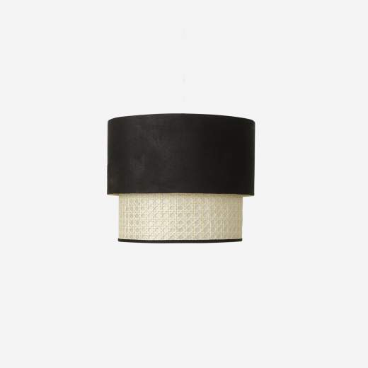 Lampshade Paris-2, black