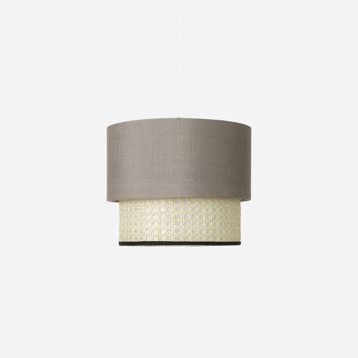 Lampshade Paris-2, grey
