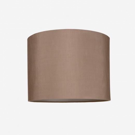 Lampshade rawsilk rosebrown 40x30