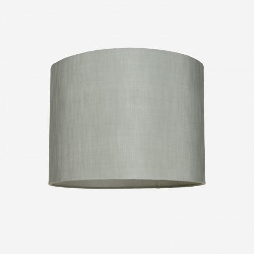 Lampeskærm råsilke dusty green 40x30