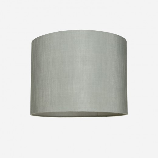 Lampshade rawsilk dusty green 40x30
