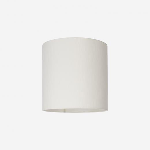 Lampshade rawsilk white 30x30