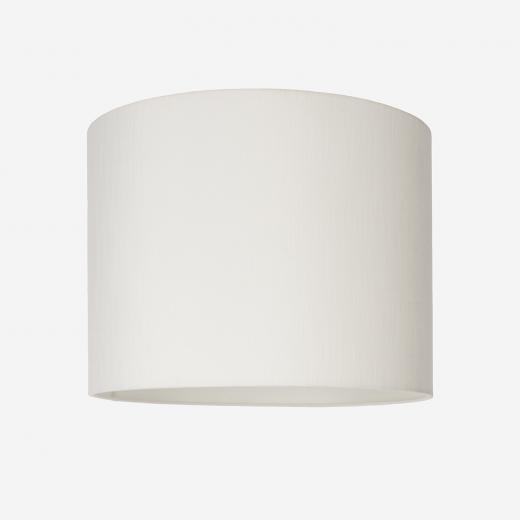Lampshade rawsilk white 40x30
