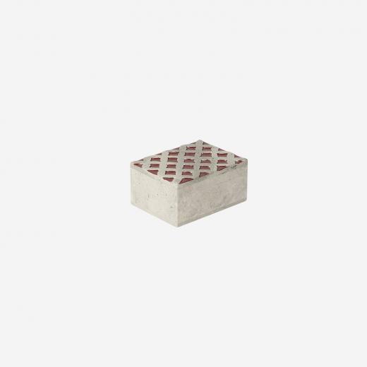Soft stone box S warm red