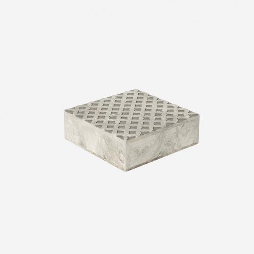 Soft stone box M grey