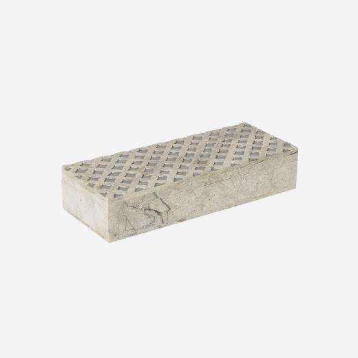 Soft stone box B grey