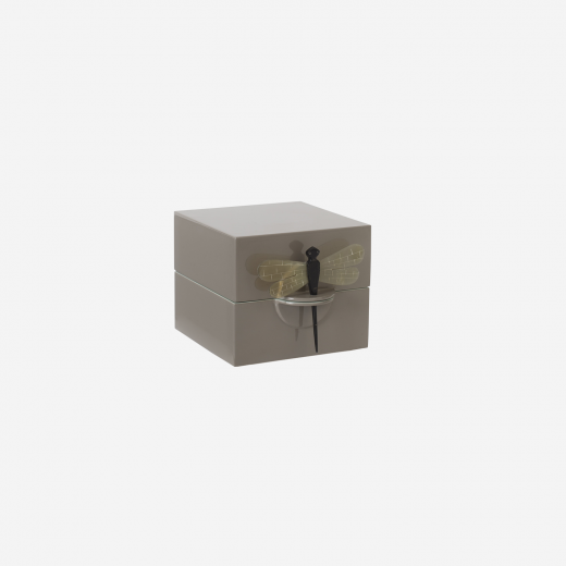 Lacquerbox S brown grey