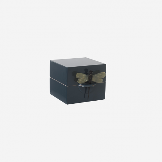 Laquerbox S demin blue