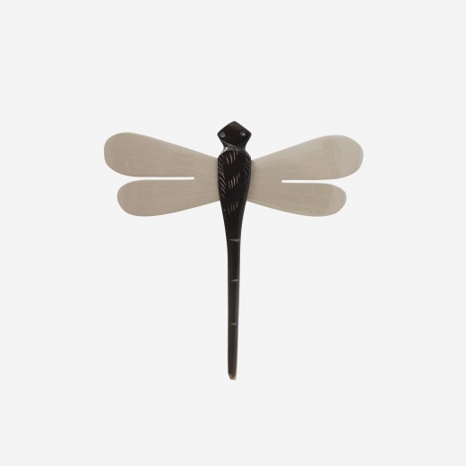 Dragonfly brown grey