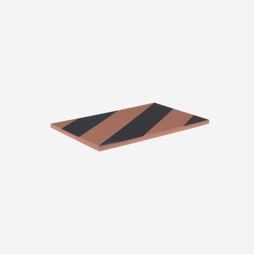 Board 30x20 demin/earth