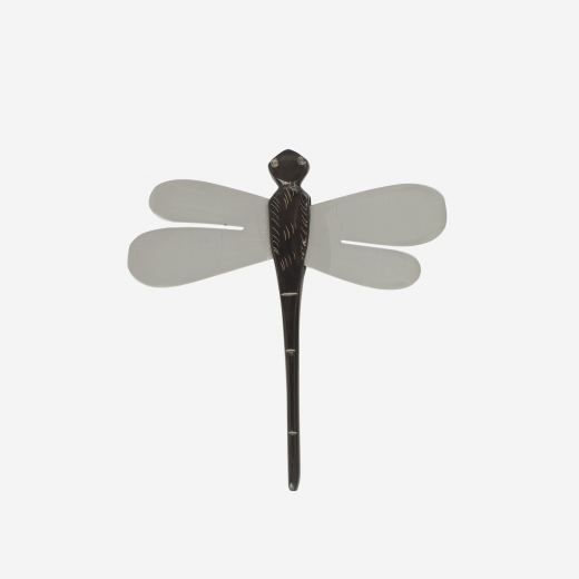 Dragonfly stick grey