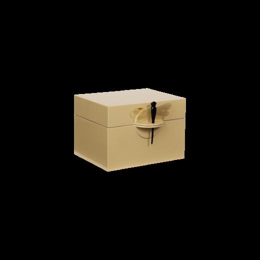 Lacquer box B wheaten