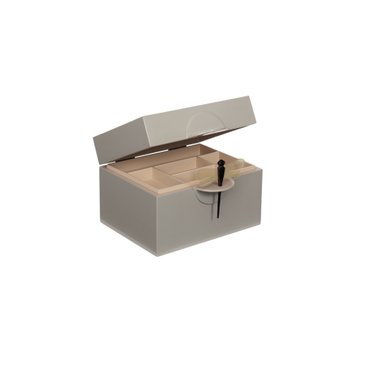 Lacquer box B cool grey-01