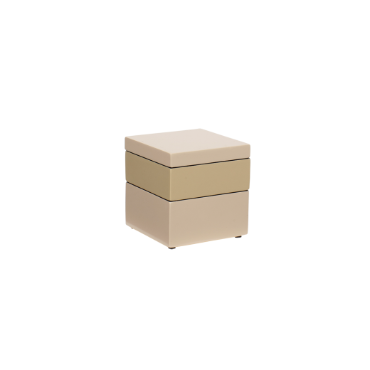 Box it square skin/wheaten/skin
