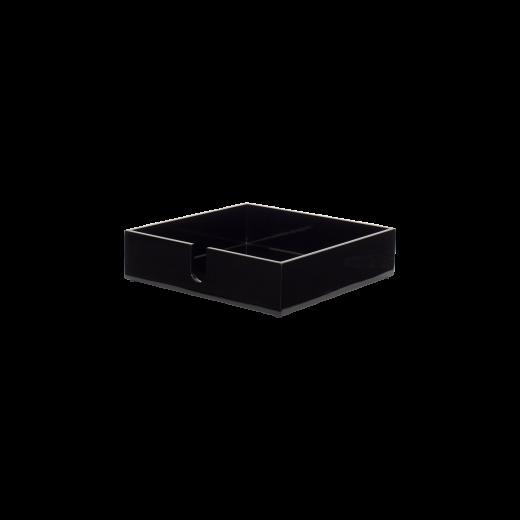 Napkin tray black