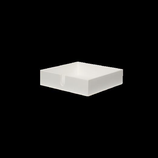 Servietbakke white