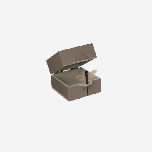 Lacquer box S mocca-01