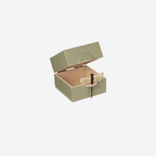 Lacquer box S olive-01
