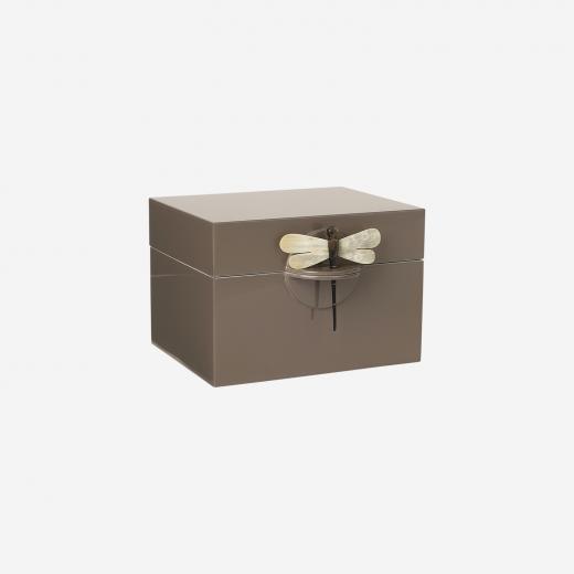 Lacquer box B mocca