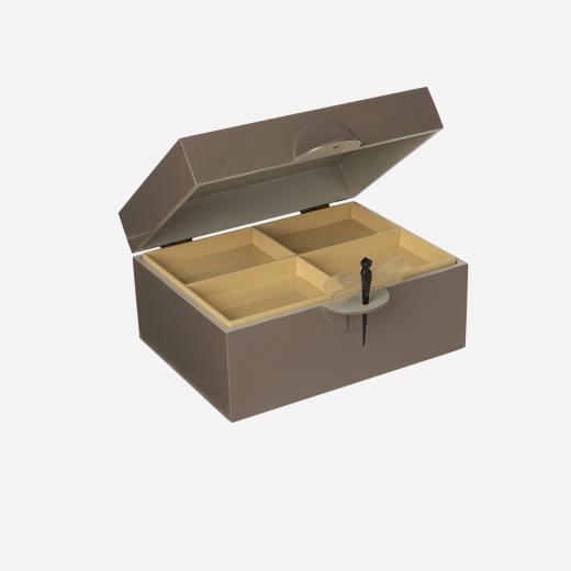 Lacquer box XL mocca-01