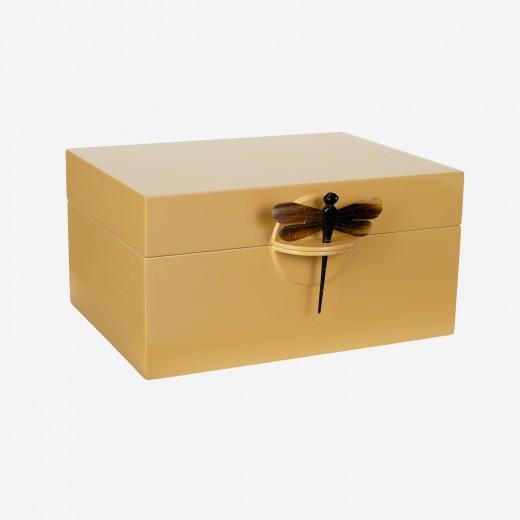 Lacquer box saffron, XL