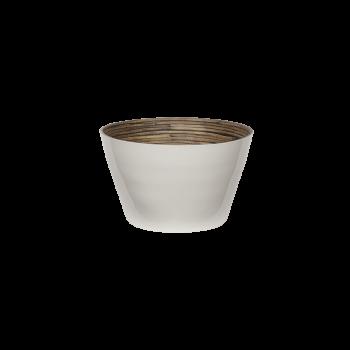 Bambus skål, white-20