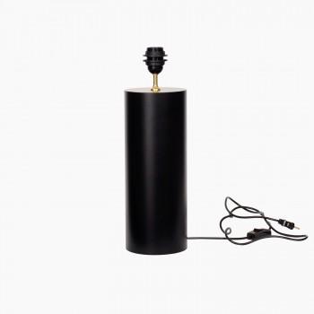 Lampefod Graphic-round mat black-20