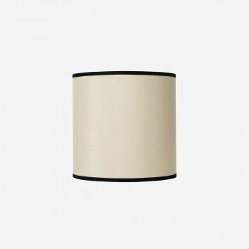 Lampshade rawsilk offwhite 30x30-20