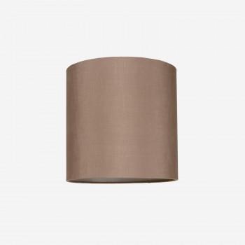 Lampeskrmrsilkerosebrown30x30-20