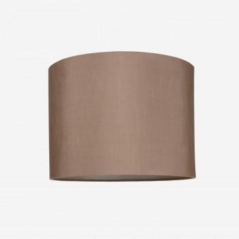 Lampeskrmrsilkerosebrown40x30-20