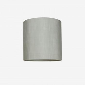 Lampshaderawsilkdustygreen30x30-20