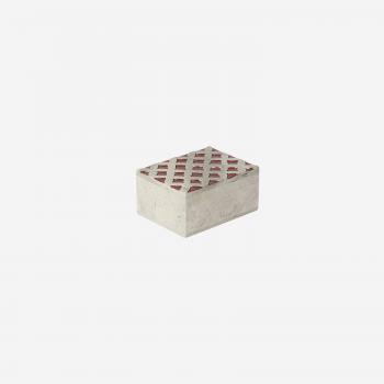 Soft stone box S warm red-20
