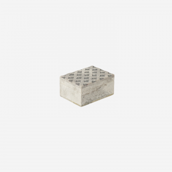 Soft stone box S grey-20