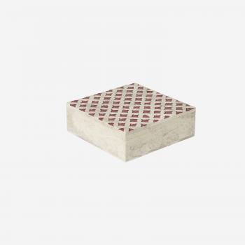 Soft stone box M warm red-20