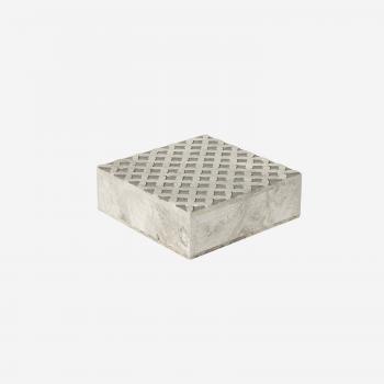 Soft stone box M grey-20