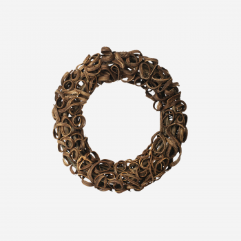 Wooden wreath S-20
