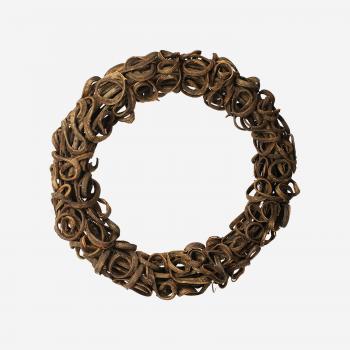 Wooden wreath B-20