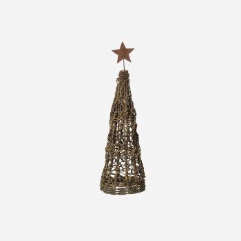 Christmas tree with binding and star S-20