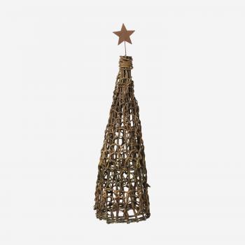 Christmas tree with binding and star B-20
