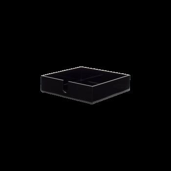 Napkin tray black-20