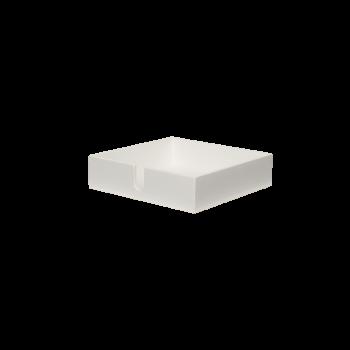 Servietbakke white-20