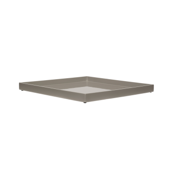 Lacquer tray 33x33 cool grey-20