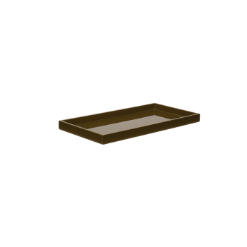 Lacquer tray 32x16 army-20