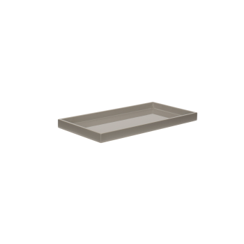 Lacquer tray 32x16 cool grey-20