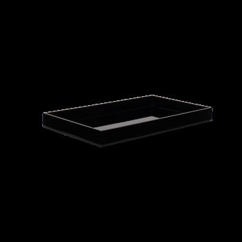 Lacquer tray 38x22 black-20